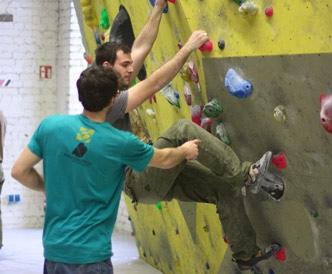 Bouldern für Einsteiger